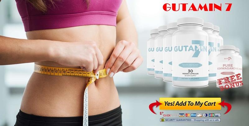 Slim Belly - Healthy Gut - Order Gutamin 7 Online